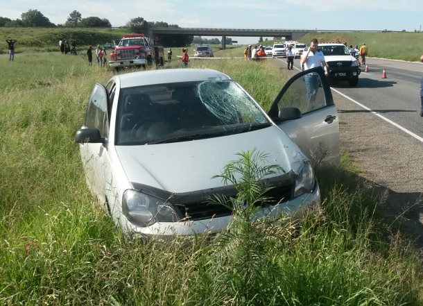 A woman was killed after being struck by a car on the R57 in Abrahamsrust towards Vanderbijlpar