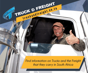 Truck and Freight Advertisement