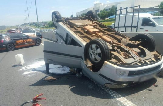 Multi-vehicle collision on the N3 North after Marlboro Drive