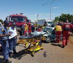 [VANDERBIJLPARK] - Five injured following two vehicle collision