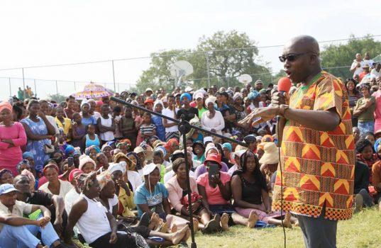 MEC Kaunda announces plans to improve road infrastructure in