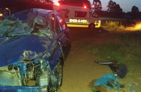 One person injured in road crash on the R40, Nelspruit